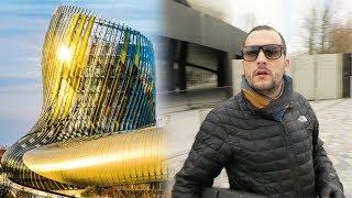 CHAMPAGNE A LA CITE DU VIN A BORDEAUX ! - BARBUS MULTI MILLIONAIRE