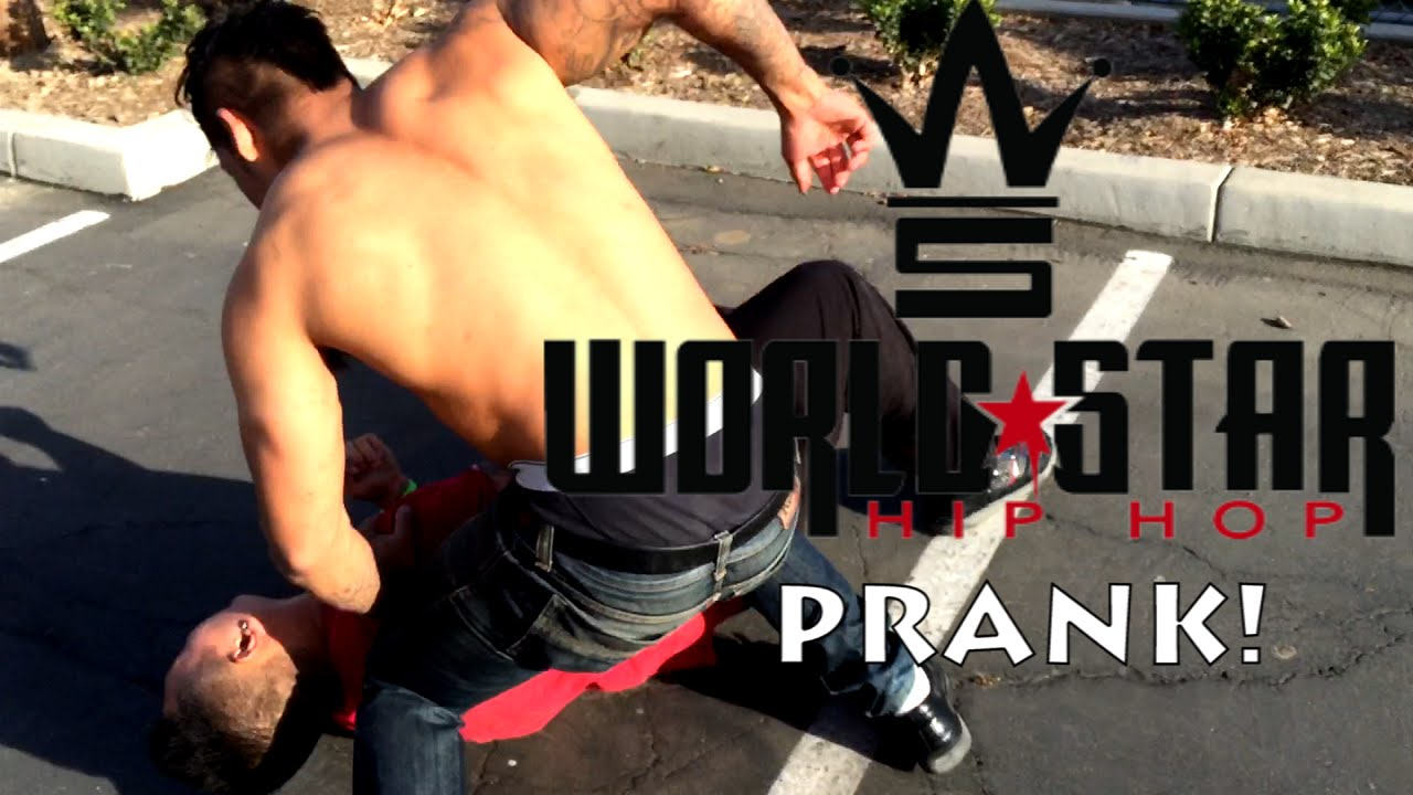 EXTREME WorldStar Hip Hop FIGHT Prank! - Public Pranks