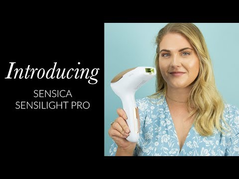 Introducing The Sensica Sensilight PRO RPL Hair Removal Device