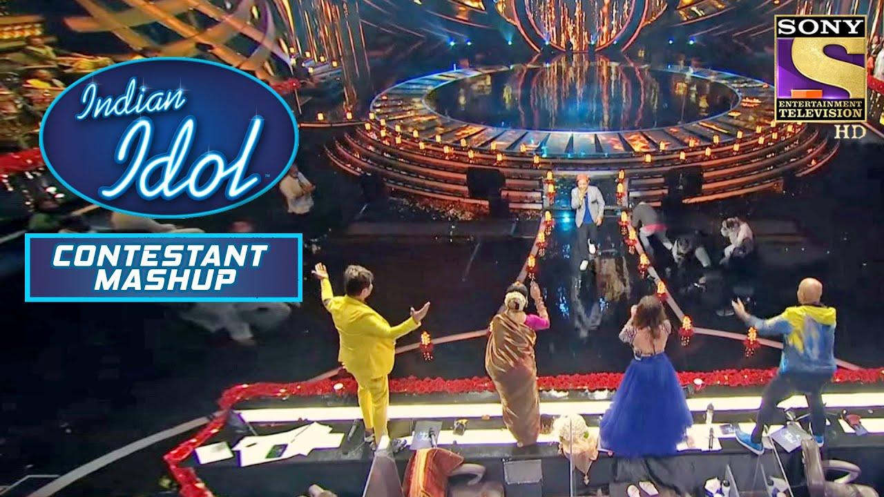 Download Pawandeep ने अपनी Singing से कर दिया सबको Table पे चढ़ने पर मजबूर | Indian Idol | Contestant Mashup