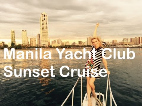 Manila Yacht Club Sunset Cruise 2015 Roxas Boulevard Manila Bay by HourPhilippines.com