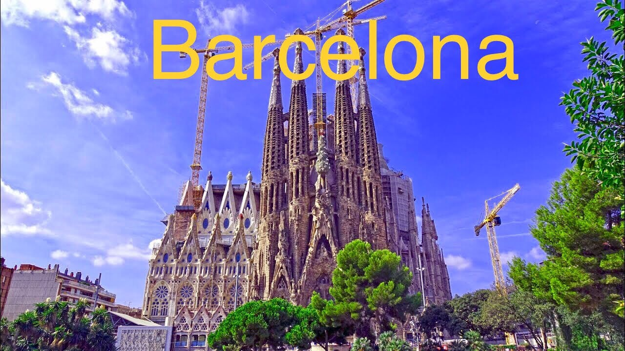 historical barcelona spain 4k -#main