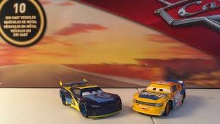 Disney Pixar Cars 3 Dan Carcia and Bruce Miller diecast review