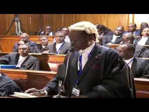 Prof. PLO Lumumba excites court in presidential poll petition case