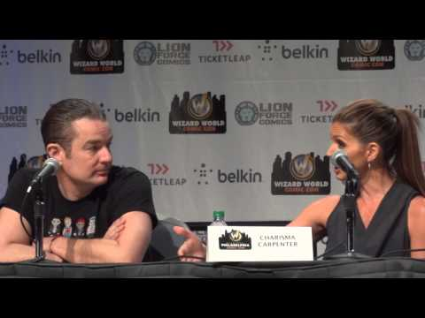 Buffy James Marsters Charisma Carpenter Panel Wizard World Philly Comic Con May 31 2013 Part 12