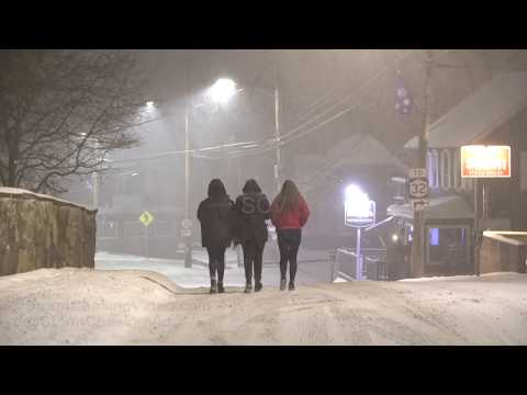 New Paltz, NY Overnight Winter Storm - 1/19/2019