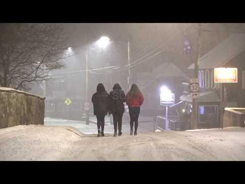 New Paltz, NY Overnight Winter Storm - 1/19/2019