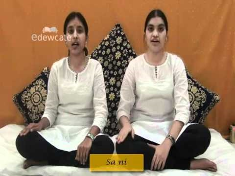 Learn Carnatic Classical Vocals : Lesson 2-4 Sarali swaralu