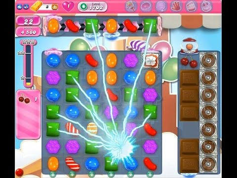 Candy Crush Saga Level 1702 ★★★ NO BOOSTER