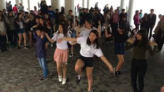 (4Ever Dance HK)Public Random Dance Challenge in TST (HK) K-POP Party 2018/02/20