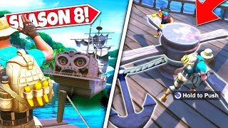 *NEW* PIRATE SHIP ANCHOR *RAISED* CONFIRMING NEW DRIVABLE WATER VEHICLE! SEASON 8 UPDATE!: BR