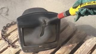 Sand Blasting - TV killer !!!