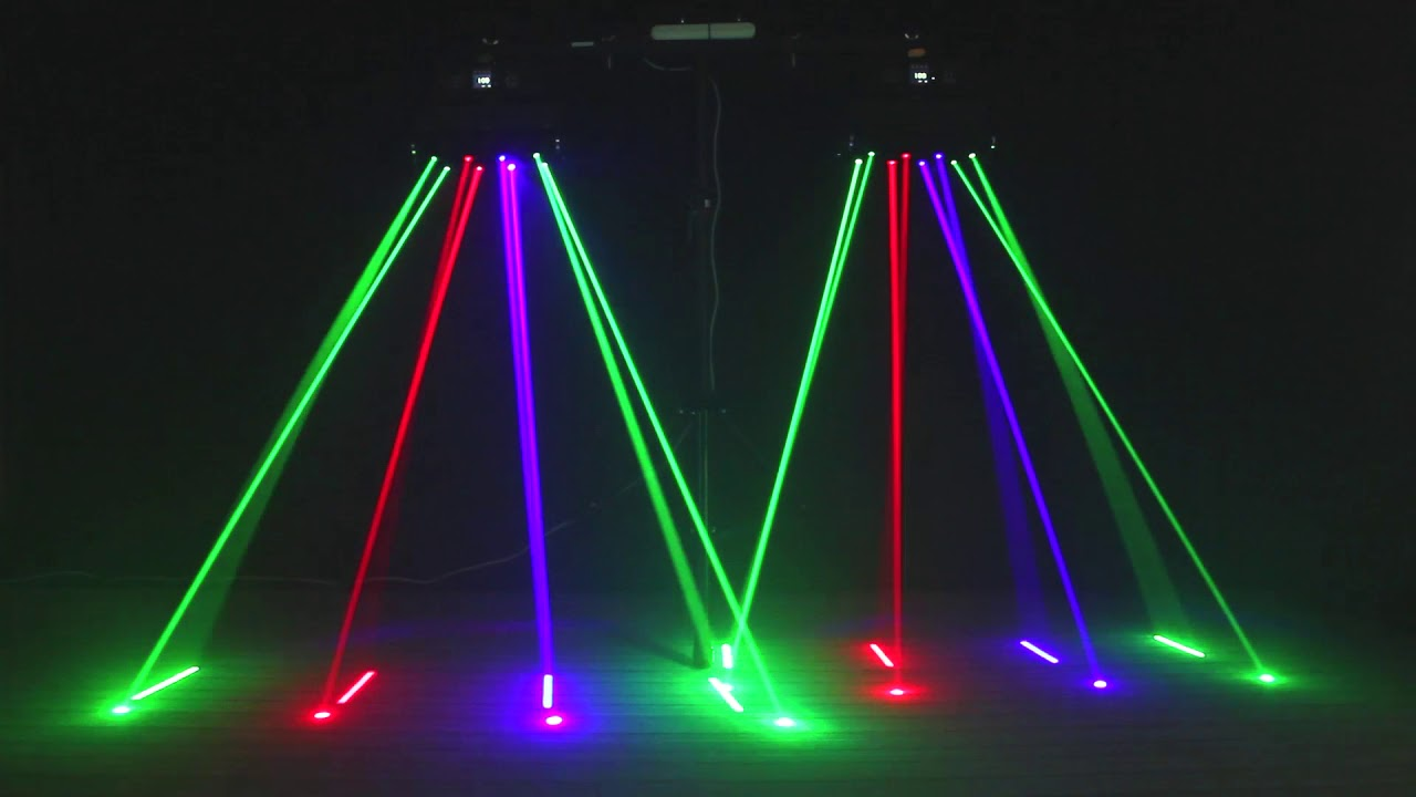 150w Rgb Led Spider Laser Beam Moving Head Stage Lights