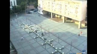 Веб-камера онлайн Театральная площадь, Днепропетровск - Camera.HomeTab.info