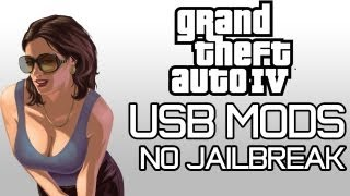 GTA IV USB MODS | GOD MODE, UNLIMITED CASH, WEAPONS, +MORE with DOWNLOAD!