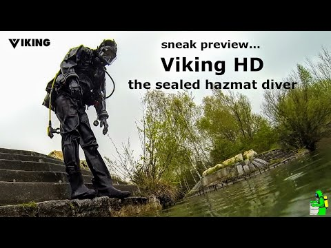 Viking HD - the sealed hazmat diver - sneak preview...