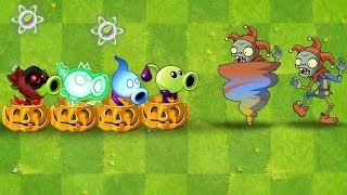 Every Peashooter vs Jester, Newspaper, All Star and Gargantuar Plants vs Zombies 2 Ultimate Power UP