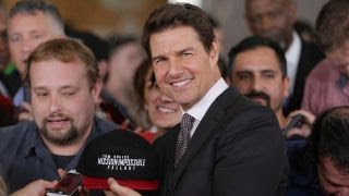 Tom Cruise explains why he does his own stunts