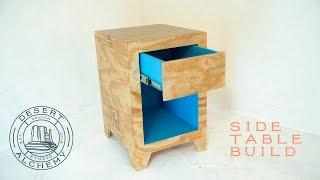 Plywood Side Table Build (Desert Alchemy Design)