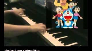 Medley Lagu Kartun 90-an (Cover)