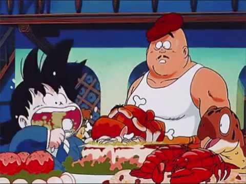 Goku Eating Non Stop Youtube