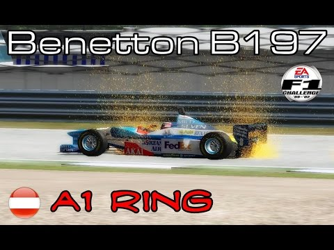 [F1C] Mild Seven Benetton Renault B197 @ A1 Ring with Gerhard Berger (HLT 1997)