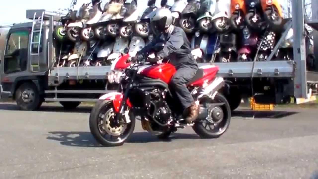 Triumph Speed Triple SE 2010 1503040074 k - YouTube