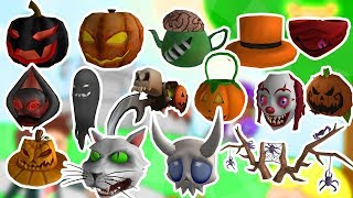 ALL HALLOWEEN ITEMS-ROBLOX