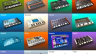 KORG Gadget - How I Compose With Gadget - Demo for The iPad