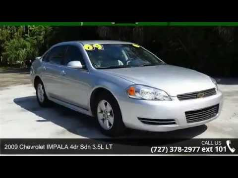 Julians Auto Showcase >> 2009 Chevrolet IMPALA 4dr Sdn 3.5L LT - Julians Auto Show ...