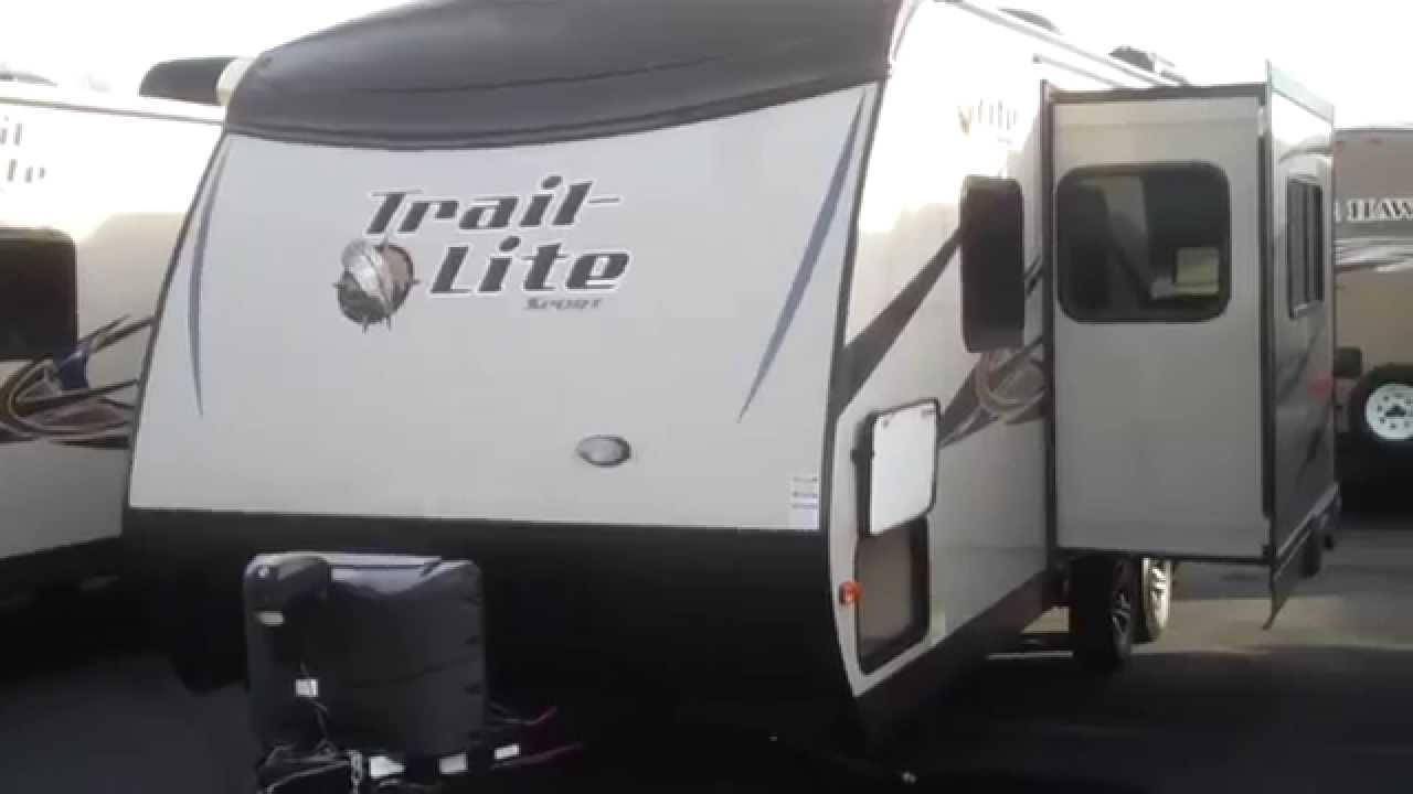 Cool Monaco 2014 Trail Lite Sport 23RBS Travel Trailer At