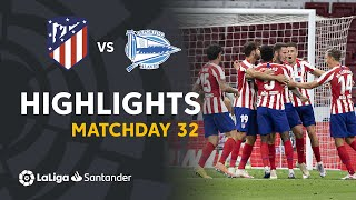 Highlights Atletico Madrid vs Deportivo Alavés (2-1)