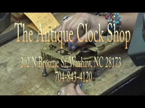 Waxhaws Around Downtown Series Presents: Antique Clock Shop