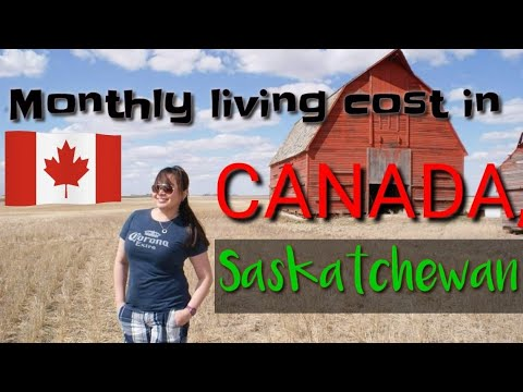 Iba Parin Ang Matipid! Monthly Living Cost In Canada  Cost Of Living In Saskatchewan