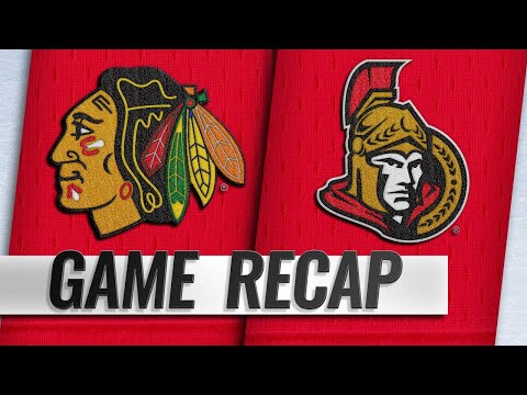 Kruger, Martinsen lead Blackhawks past Senators