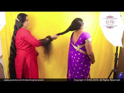 ASMR Hair Pulling | Hair Strength Challenge | Hair Pulling Therapy | LongHair Pulling for Relaxation