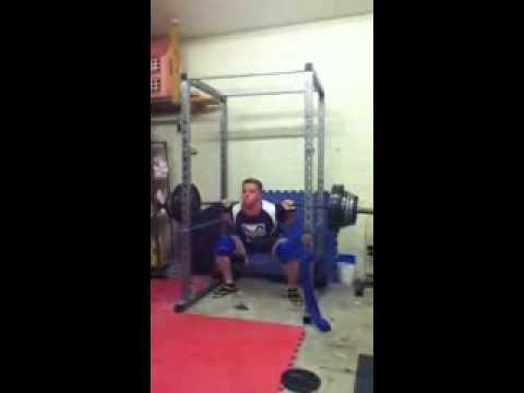 230kg/506lbs raw squat