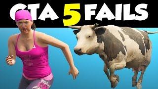 GTA 5 FAILS & WINS #14 // (GTA V Funny Moments Compilation)