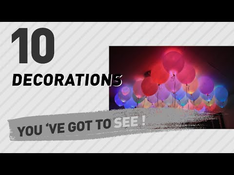 Decorations, India 2017 Collection // Popular Party Supplies