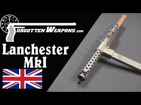 Lanchester MkI: Britain's First Emergency SMG