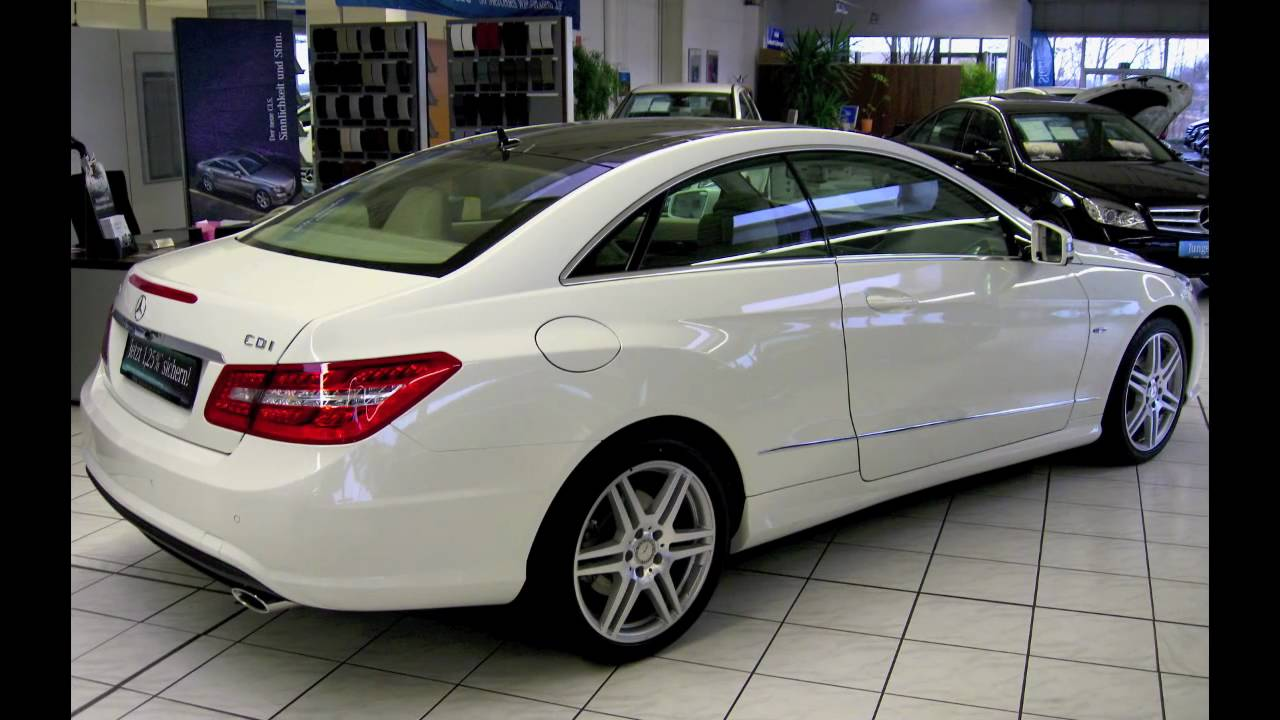 Mercedes E Coupe Amg Sport Paket Youtube