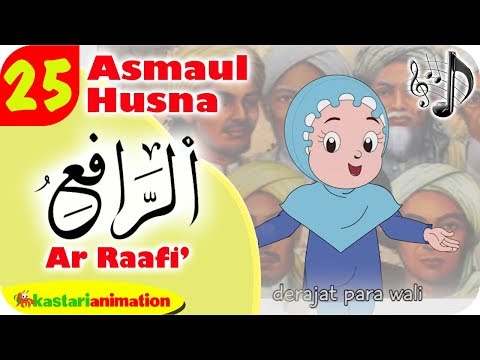 Asmaul Husna 25 Ar Raafi bersama Diva | Kastari Animation Official