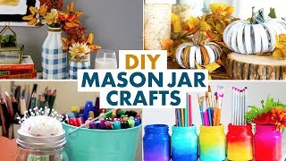 Mason Jar Crafts to Try This Weekend