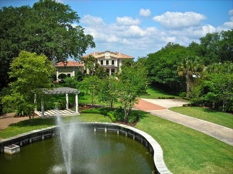 Exceptional Estate Residence with Beautiful Sunsets in Jacksonville, Florida
