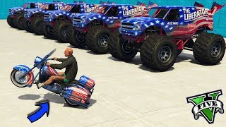 GTA 5 ONLINE 🐷 MOTO VS MONSTER TRUCK!!! 🐷 LTS 🐷N*314🐷 GTA 5 ITA 🐷 DAJE !!!!!!!