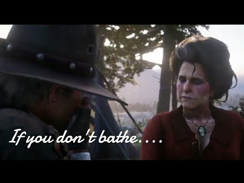 Red Dead Redemption 2: What Happen's if you Don't Bathe