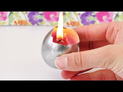DIY Osterkerze | Echte Kerze im Osterei selber machen | Tolle Geschenk Idee | Frühlings Dekoration