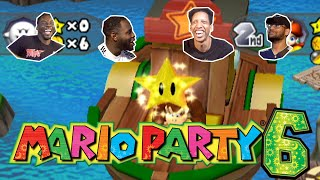 WE LOSING OUR FRIENDSHIP OVER THIS GAME | Mario Party 6 Gameplay