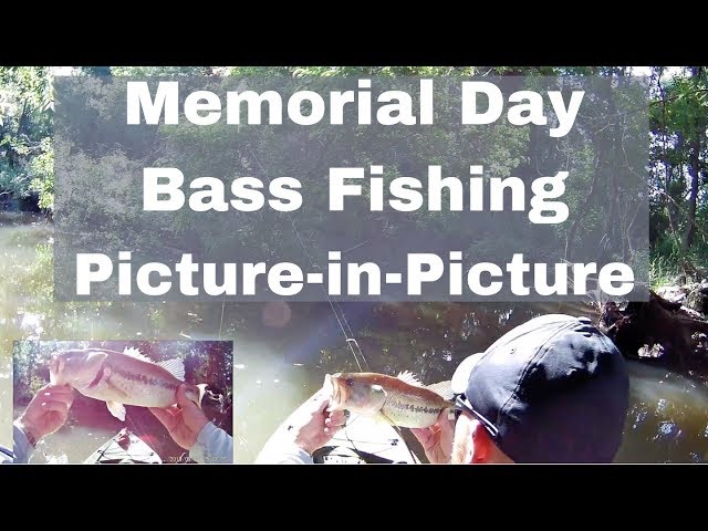 Memorial Day Bass Fishing Picture-in-Picture | Lake Woodlands
