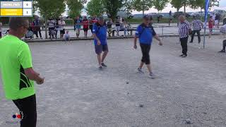 Pétanque Movie Régional de Fénay 2018 Courroy D- Couderc P VS Fred Michel & D Michel